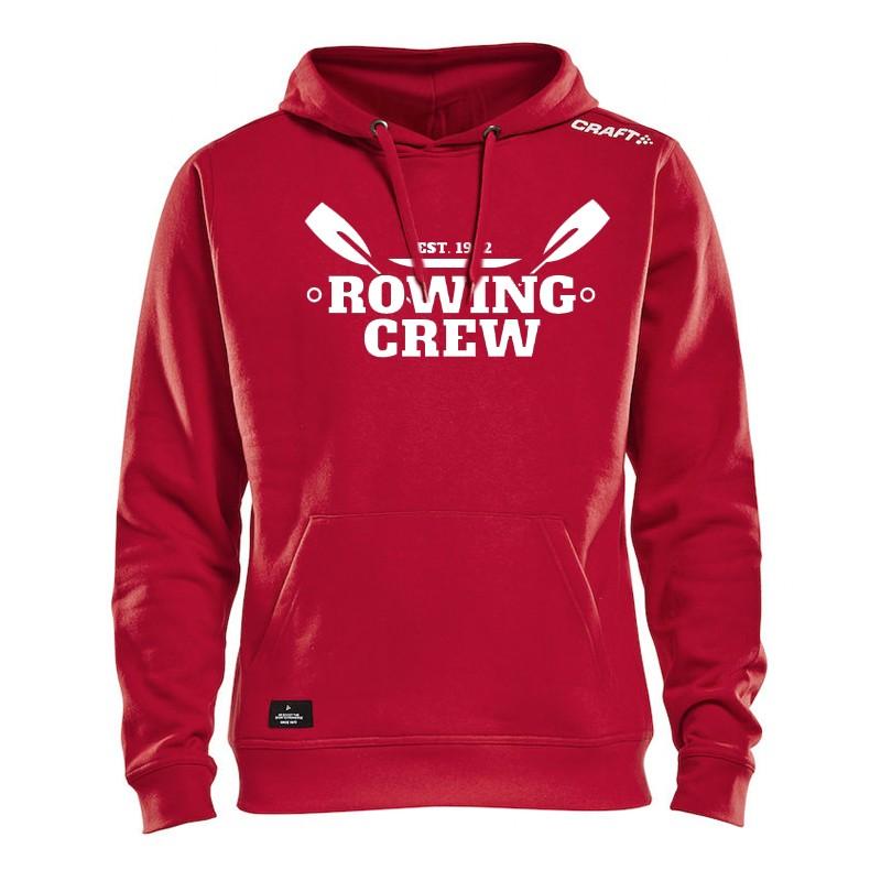 """CRAFT Rowing Crew Hoodie """"Felix"""" rot"""