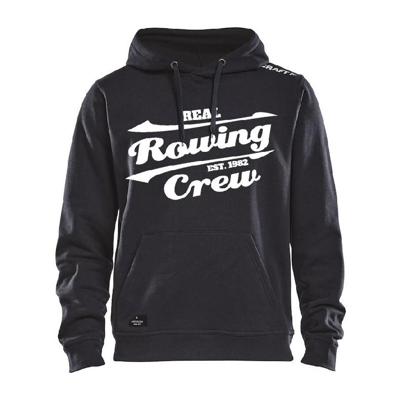"""Rowing Crew Hoodie """"Steve"""" schwarz"""