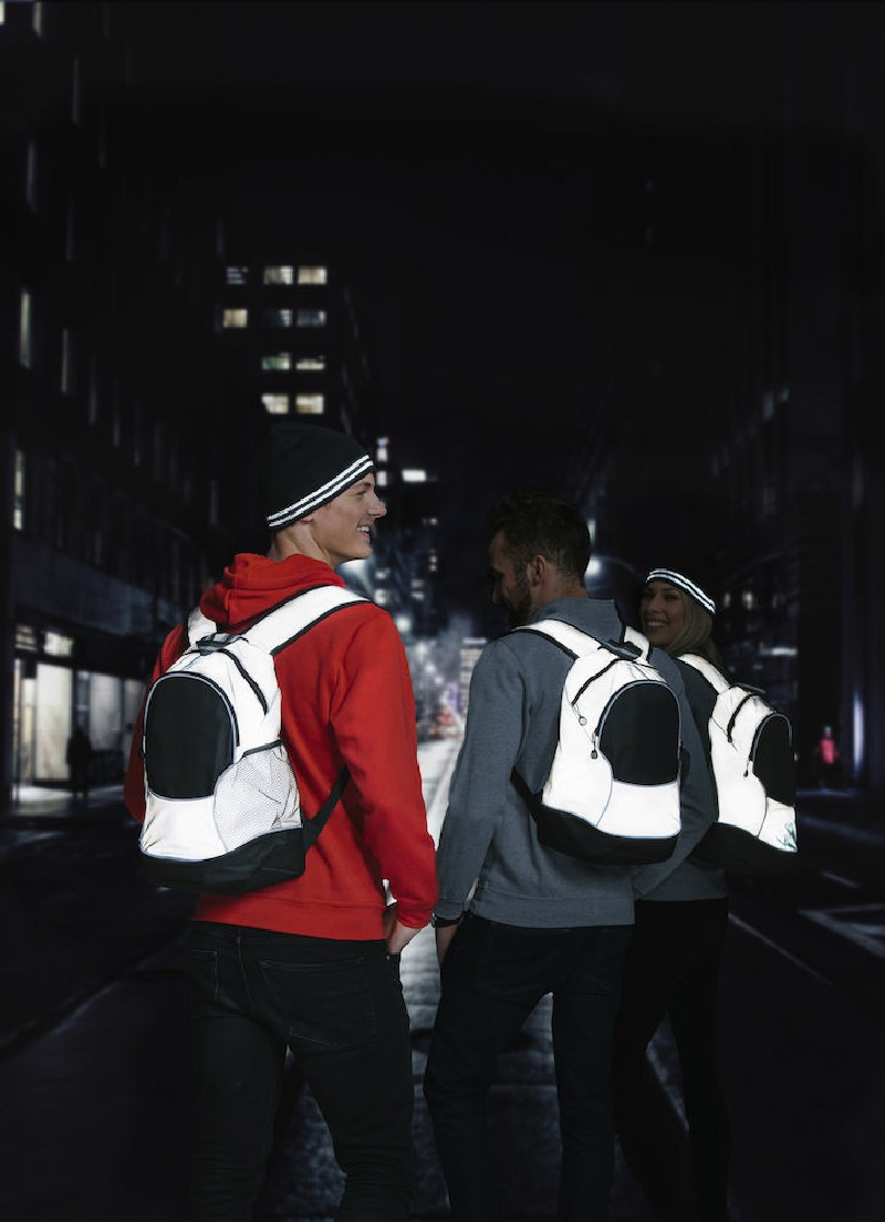 Clique x Rowing Crew Backpack 21 L Reflective
