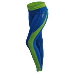 "SUP-Hose ""Tights"", saphir/lime, Frauenschnitt"