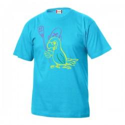 "Rowing Crew Kinder-T-Shirt ""Papagei"""