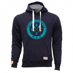 """Einfach schon eine Legende - Hoodie """"Benni"""" - der beliebte Kulthoodie mit blauem Logo """"Spirit of Rowing"""" in Universalgröße"""
