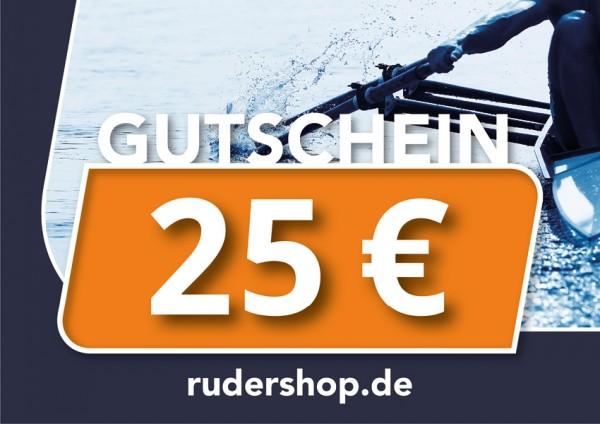 RUDERSHOP Wertgutschein 25 Euro, Motiv 3