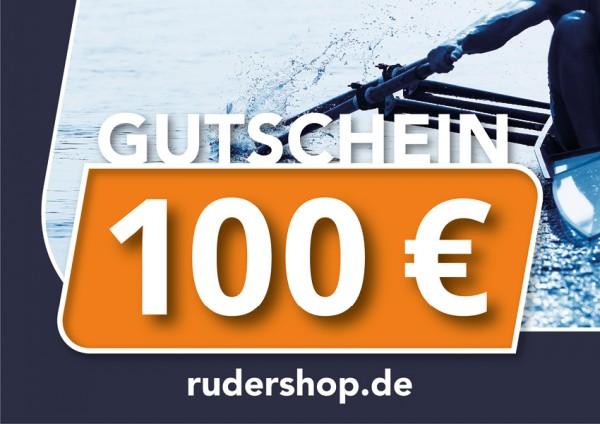 RUDERSHOP Wertgutschein 100 Euro, Motiv 3