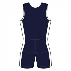 ATEX Ruder-Einteiler Kind Navyblau/Weiß
