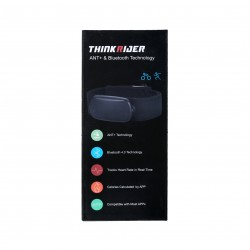 ThinkRider Herzfrequenz-Monitor mit Brustgurt