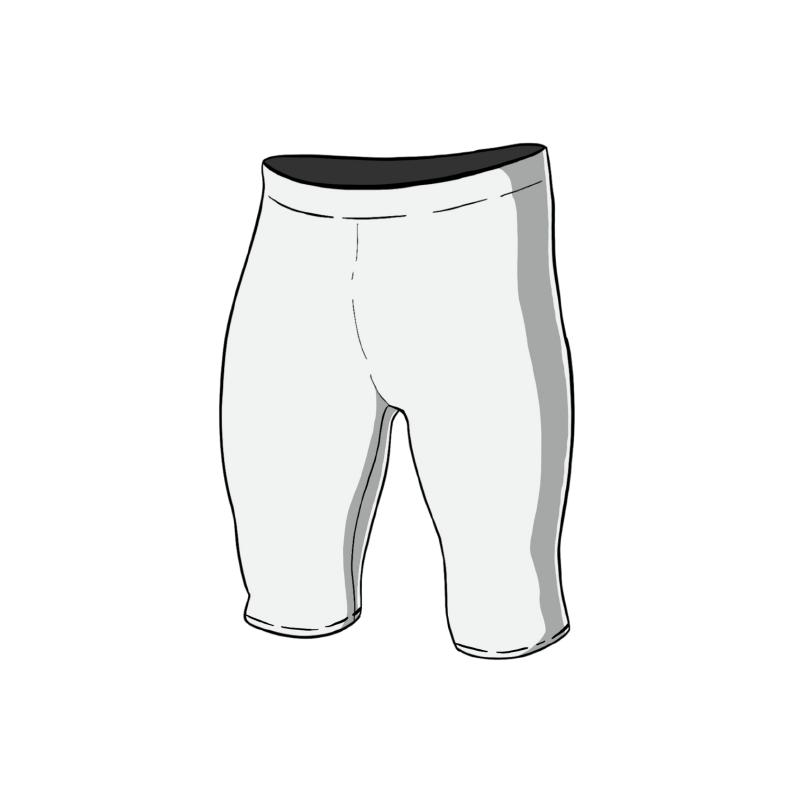 Musterstadt Ruderhose kurz