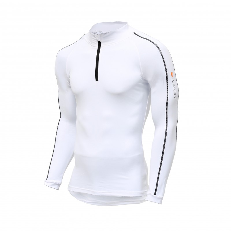 JLSPORT Thermo-Shirt V3, weiß