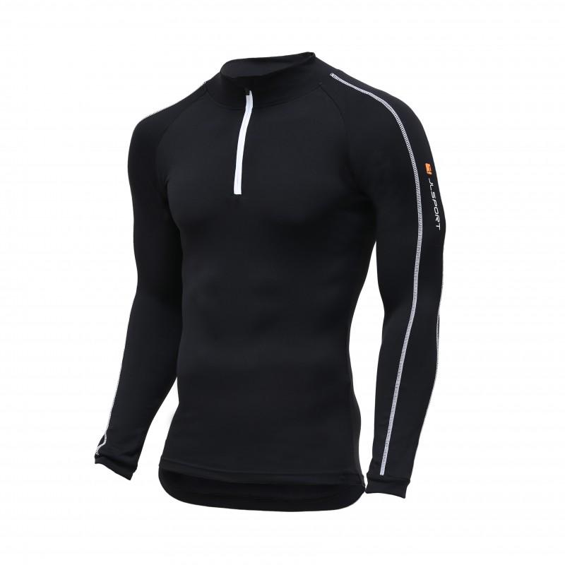JLSPORT Thermo-Shirt V3, schwarz