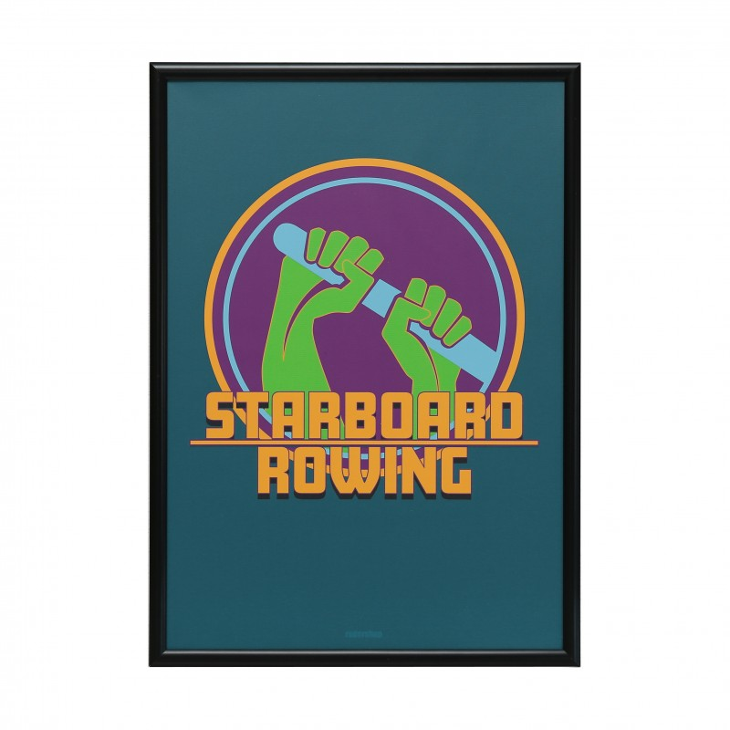 A1 STARBOARD ROWING POSTER