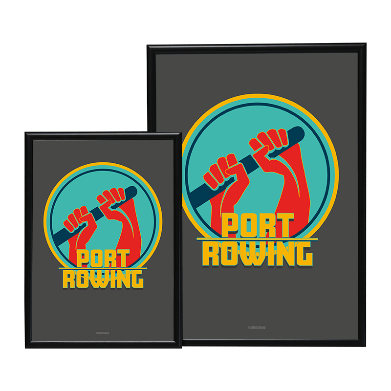 A2 PORT ROWING POSTER