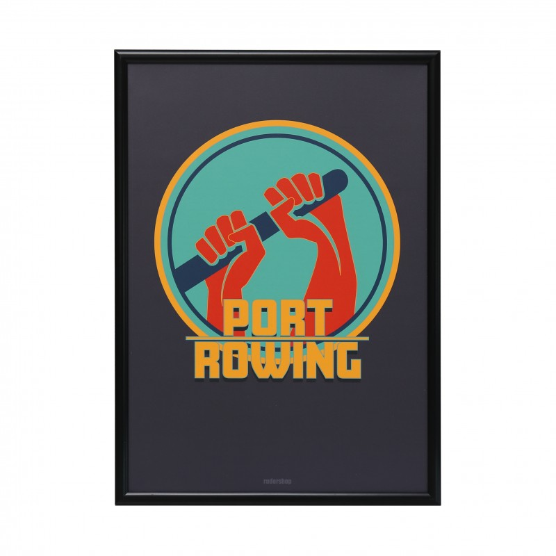 A1 PORT ROWING POSTER
