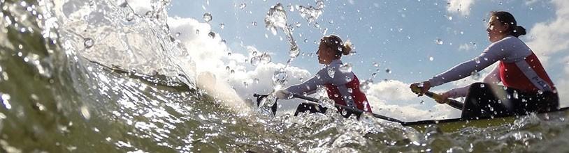 Funktionsbekleidung für aktive Rudersportler