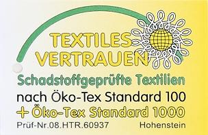 Ökosiegel Textiles Vertrauen